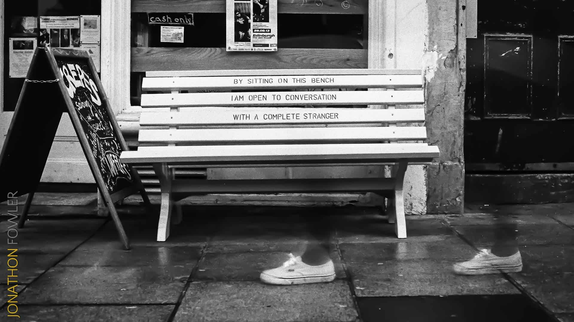 Leith Walk Ilford HP5 film black and white photo street photography - How To Choose A Photographer
