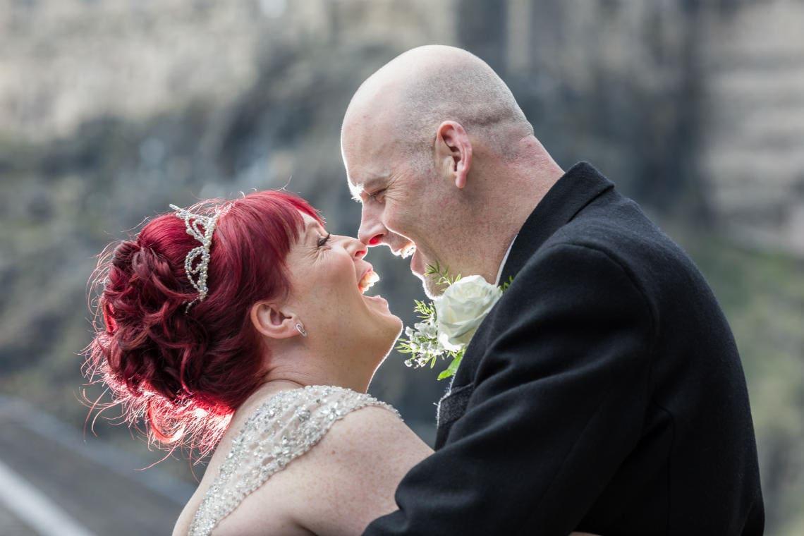 Apex Grassmarket Hotel Wedding - Andy and Laura