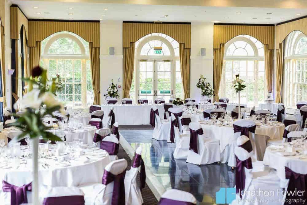 Balbirnie House Ballroom top table