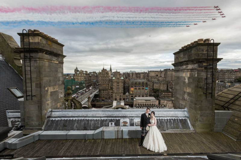 Balmoral Hotel wedding photographer Edinburgh - Jenna and Andrew