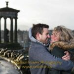 Calton Hill Engagement Photography Session - Faye and Iain