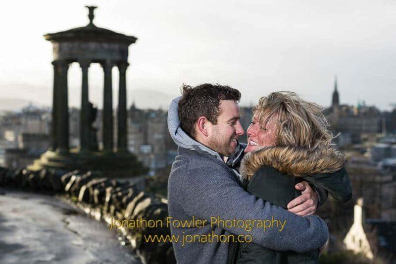 Calton Hill Photo Shoot Faye and Iain 038