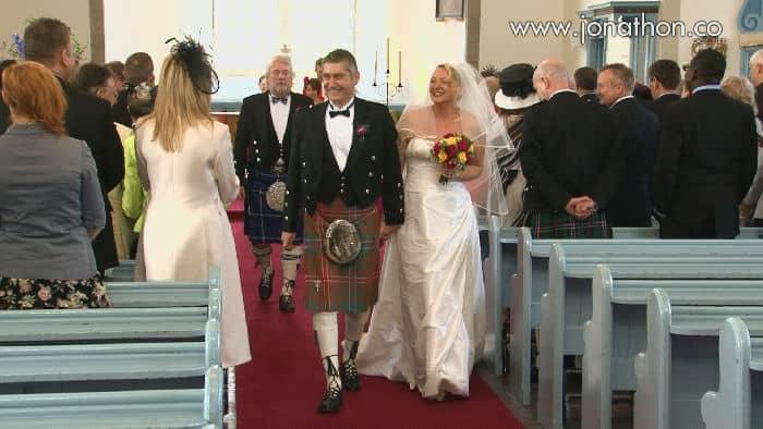 Canongate Kirk wedding video