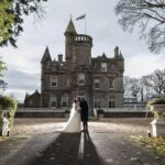 Carlowrie Castle Wedding Photographers WIth Kelly And Shaun