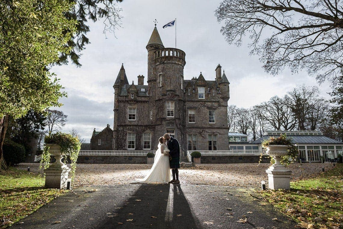 Carlowrie Castle Wedding Photographers At Kelly And Shaun's Awesome Autumn Day