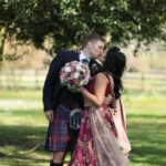 Carlowrie Castle Wedding Videographers For Amrita And Ryan - Newly-wed photo