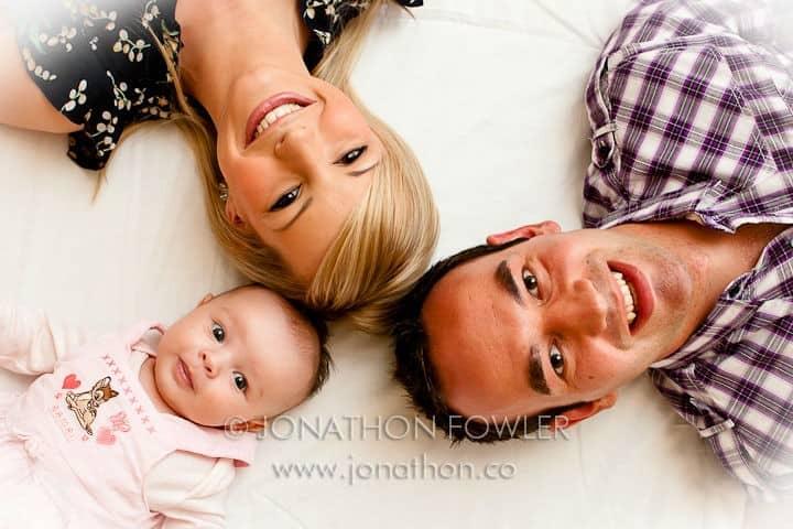 baby Lily family photographer in Edinburgh
