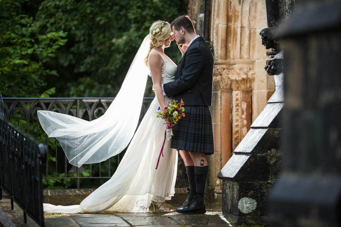 Church Weddings Photographer in Edinburgh, Scotland