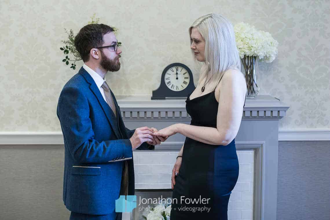City Chambers Marriage Suite - Georgette and Jonathan