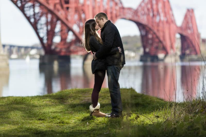 Claire and Alex Engagement Photography Edinburgh