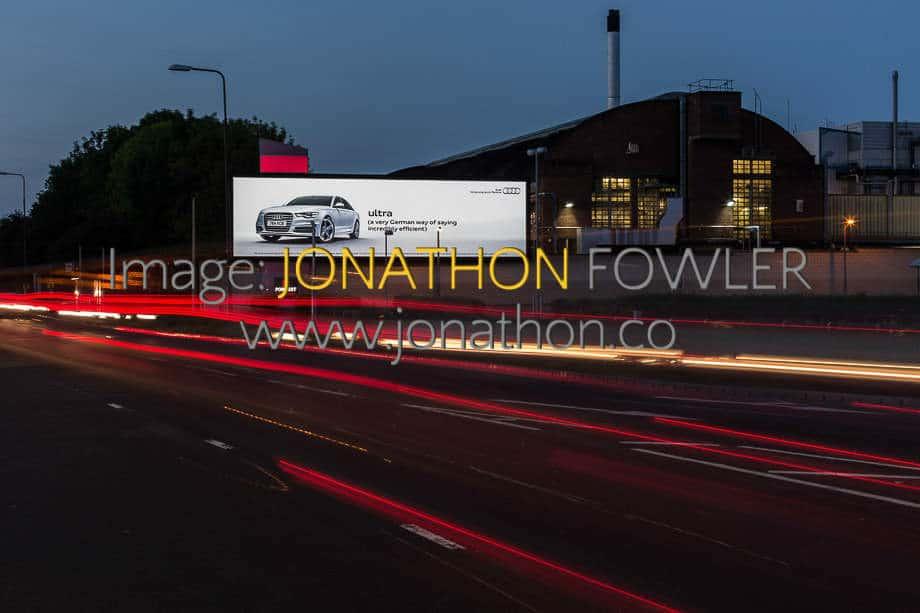 commercial photographer Edinburgh D3 LED Cityscreen 022