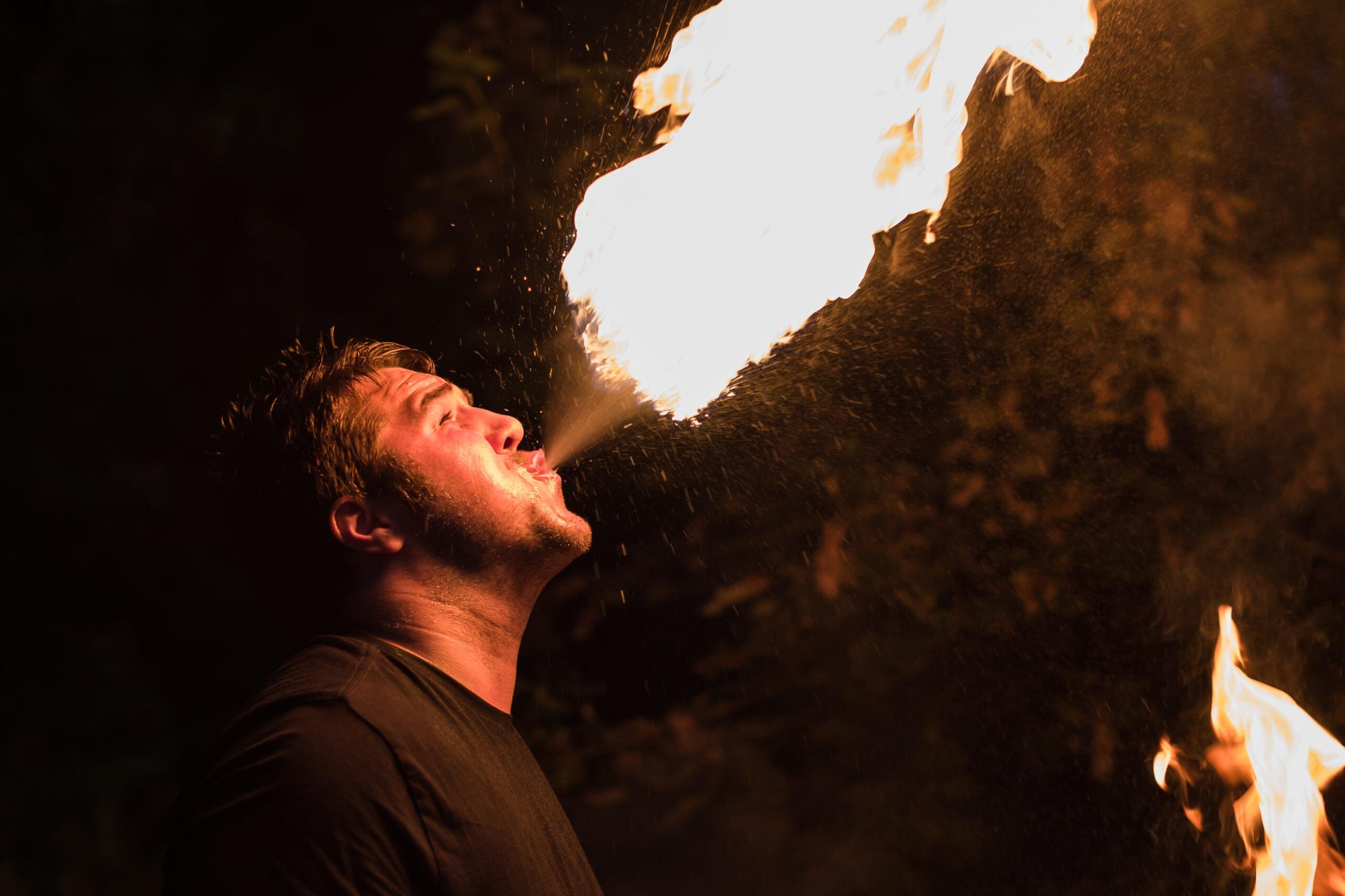 Commercial photographer in Edinburgh - Dragon's Breath Entertainment