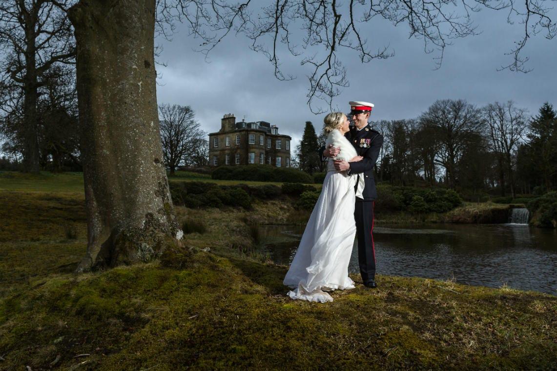 Country House Weddings Photographer in Edinburgh, Scotland