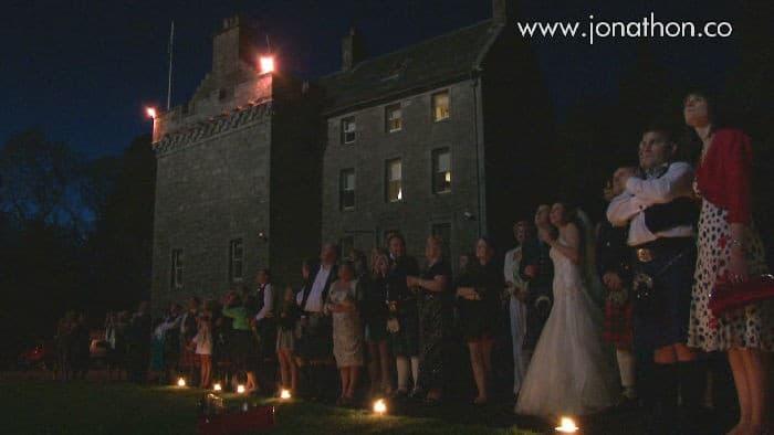 Shona and Chris Culcreuch Castle wedding 018