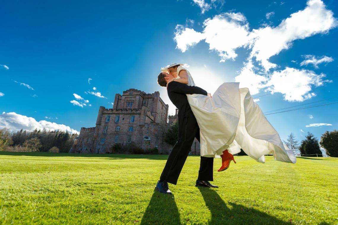 Dalhousie Castle wedding Helen and Bram 034