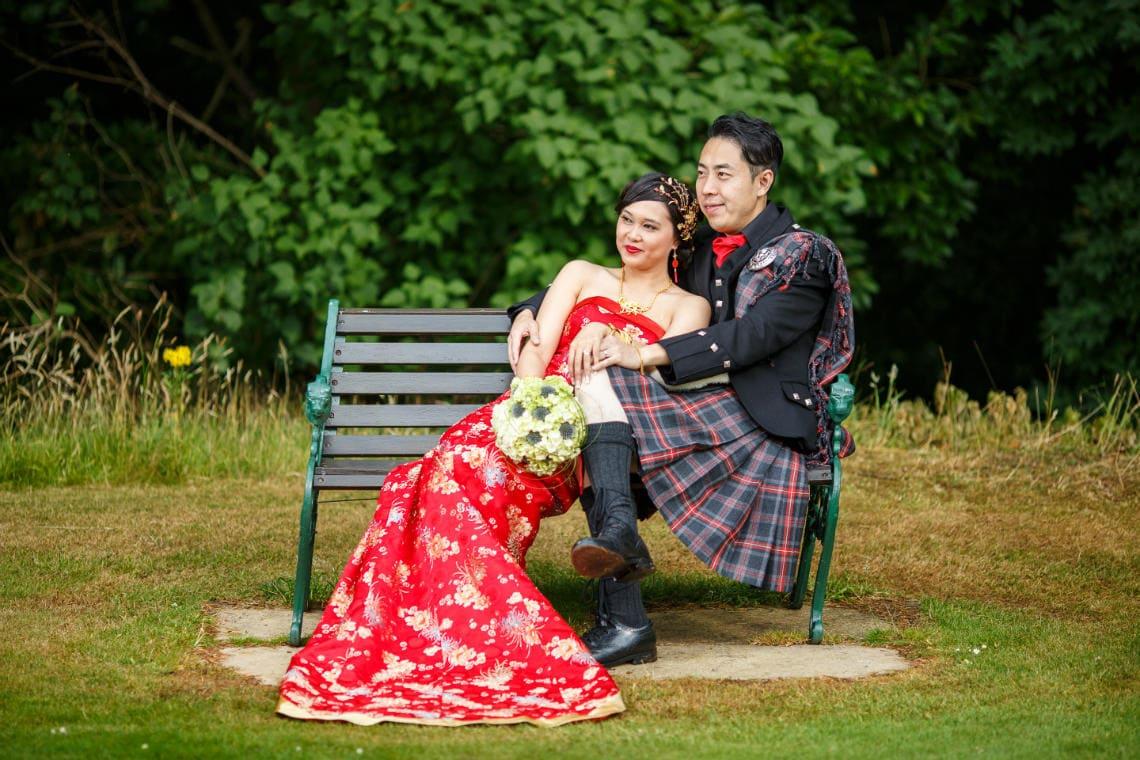 Dalhousie Castle wedding - 10