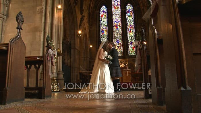 St Mary's Dalkeith wedding video