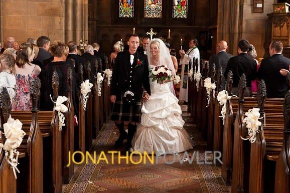 St Mary's Church Dalkeith Wedding