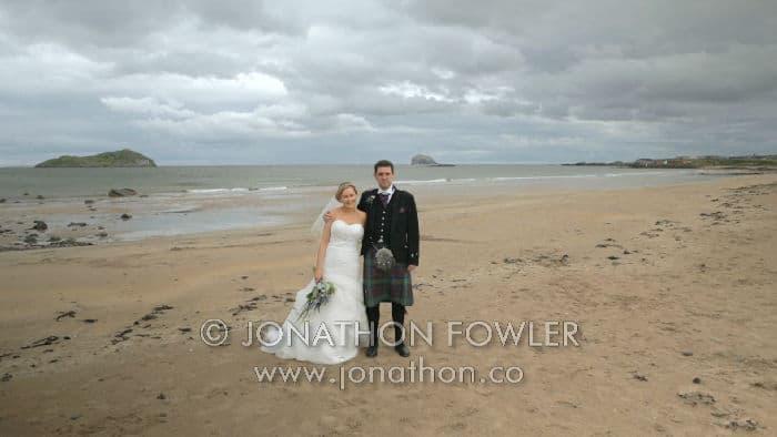 Dirleton Castle wedding Gayle and David