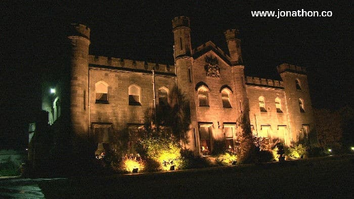 Dundas Castle at night