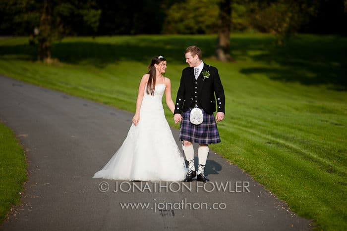 Dundas Castle Wedding Zara and Sam