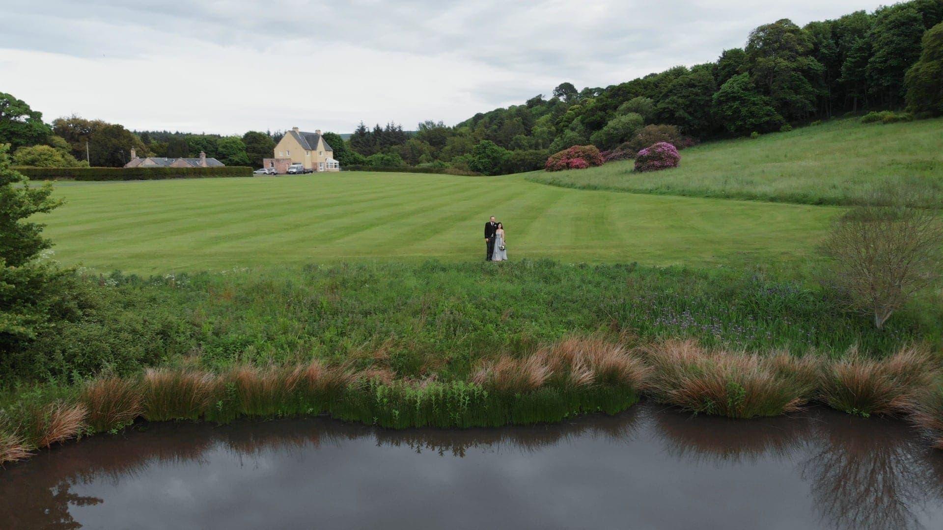 Dunglass Estate wedding videographer