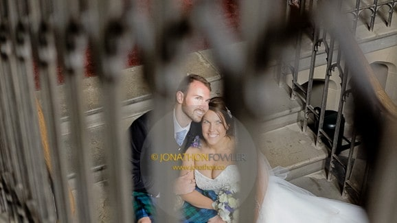 Duns Castle wedding Corinna and James