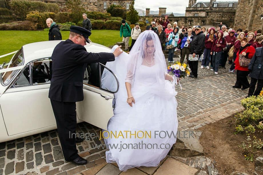 Edinburgh Castle wedding -1017