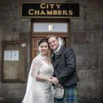 Lauren and Iain – Edinburgh City Chambers
