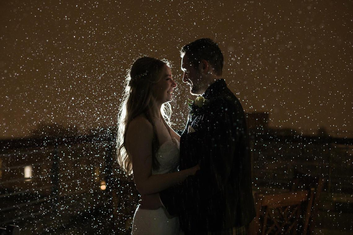Wedding photography prices - newly-weds Edinburgh George Hotel wedding