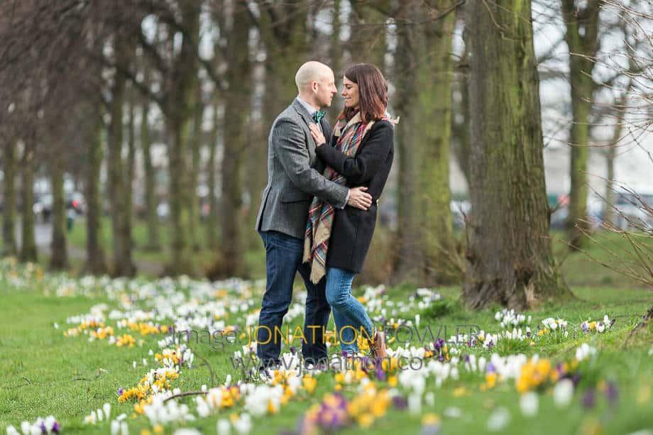 Pre-wedding Photo Shoot Inverleith Park - Colin and Sarah 034