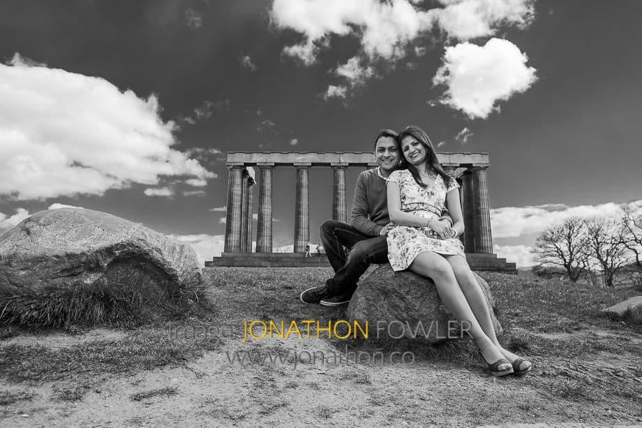 pre-wedding photo shoot in Edinburgh -1017