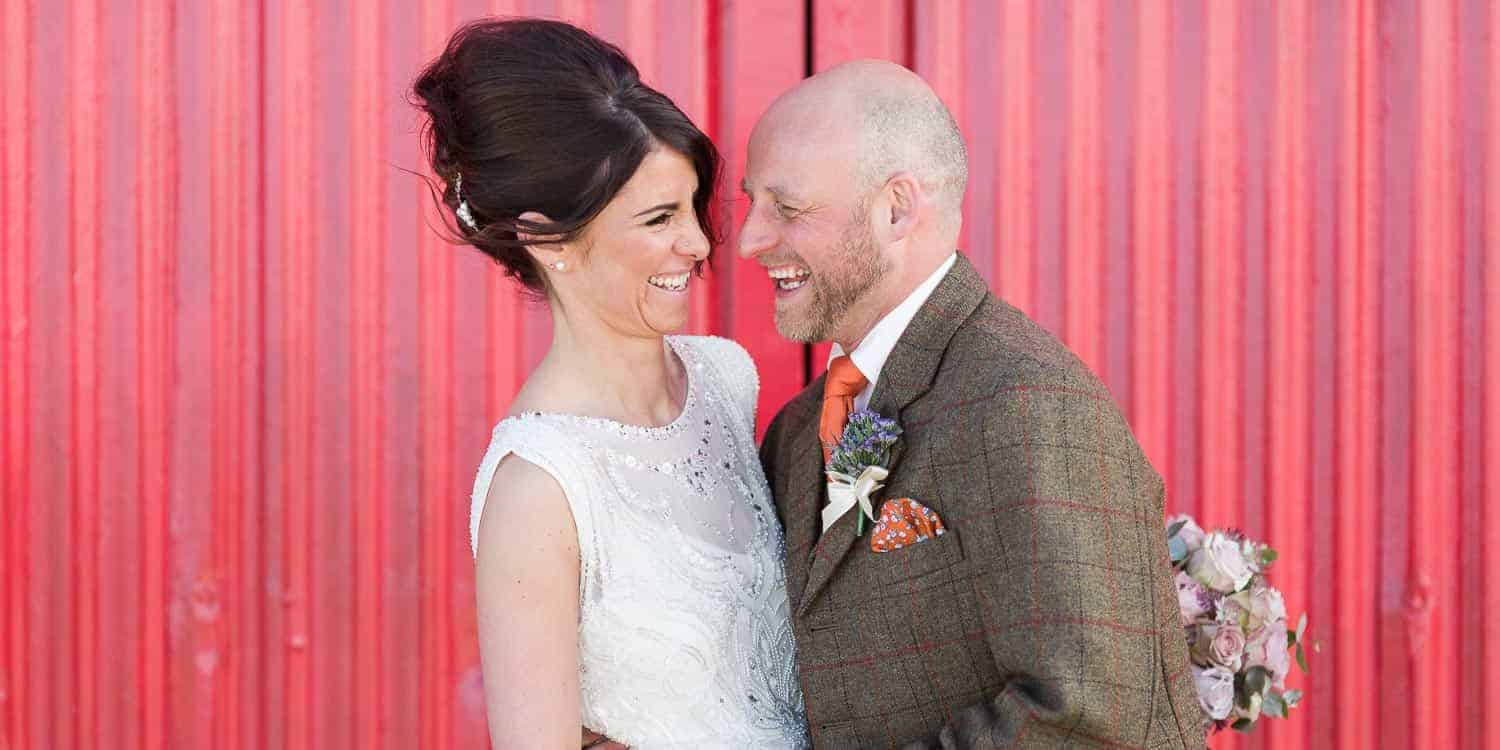Edinburgh wedding photographer - Kinkell Byre wedding Sarah and Colin