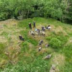 Lewis Coats – drone photos at Fatlips Castle, Scottish Borders