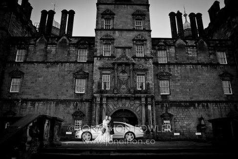 George Heriot's Wedding Photography Edinburgh wedding photography