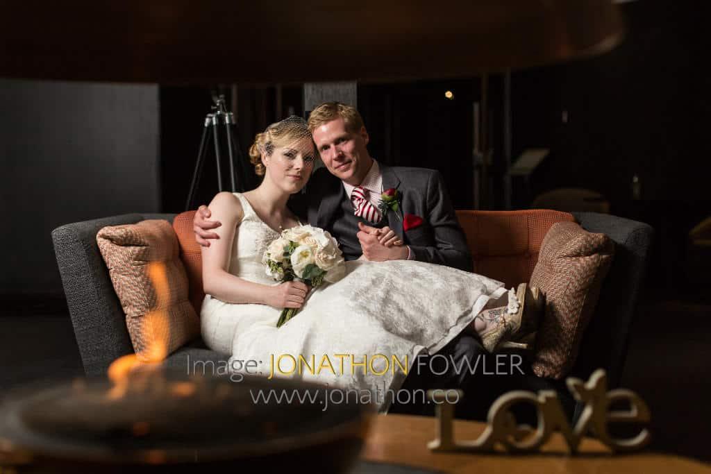 The Glasshouse wedding photos Jo and Al