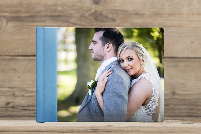 How To Choose Photos For Your Wedding Album - acrylic sample album