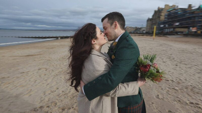 Bellfield Portobello wedding videographers in Edinburgh