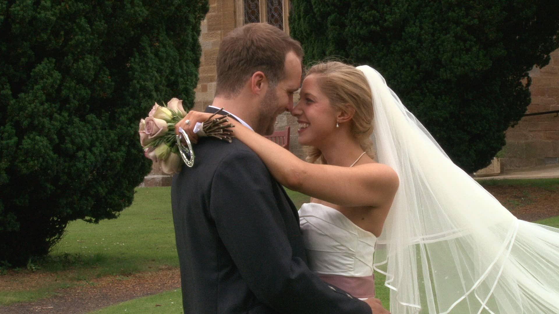 Cranstoun Church and Oxenfoord Castle Wedding Film