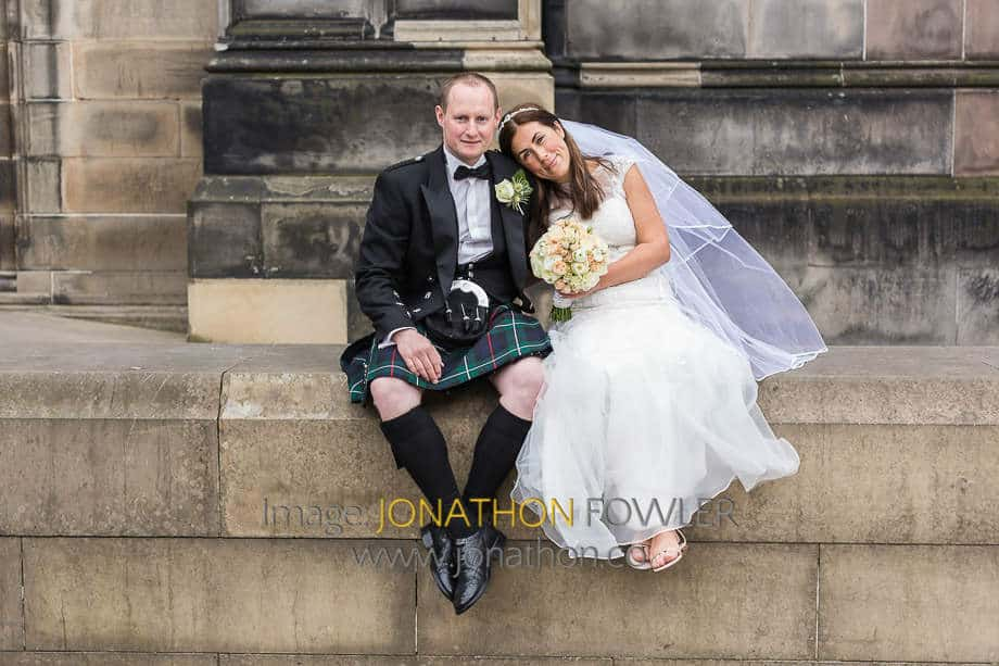 Lothian Chambers Wedding Photos and National Museum Of Scotland Wedding Photos - Adam and Justine-1088