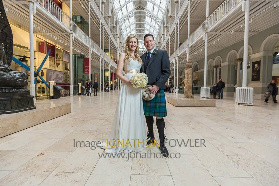 Lothian Chambers and National Museum Of Scotland Wedding Photos - Walker-1142