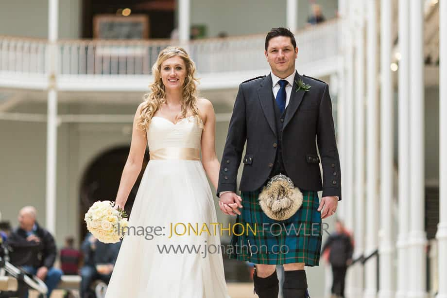 Lothian Chambers and National Museum Of Scotland Wedding Photos