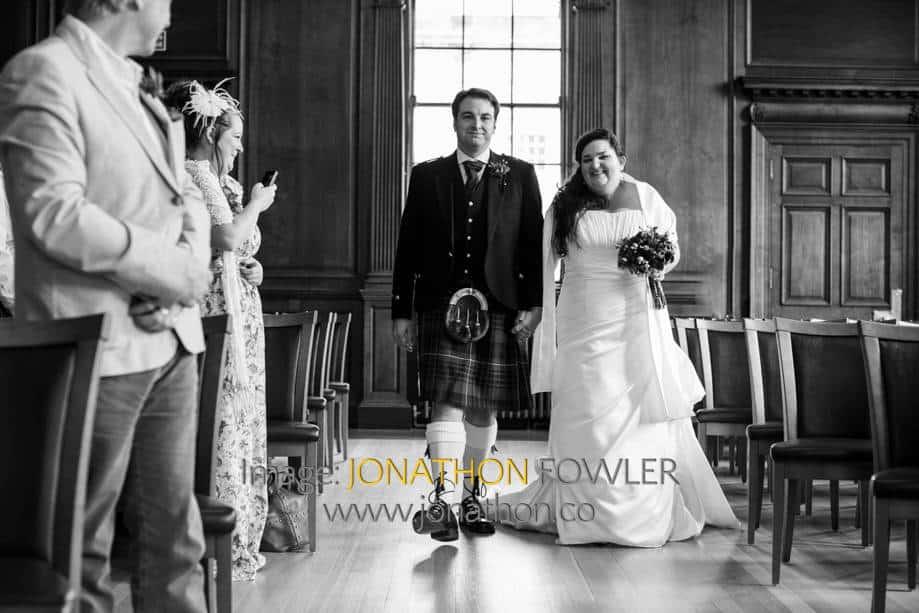 Lothian Chambers wedding