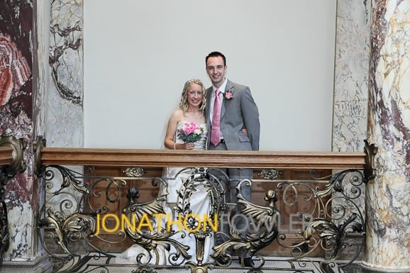 Jen and Andy's Lothian Chambers wedding photos