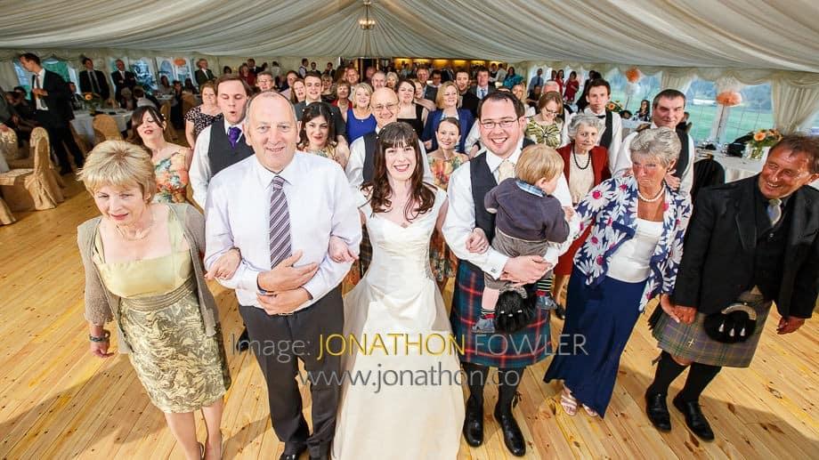 Meldrum House Hotel wedding