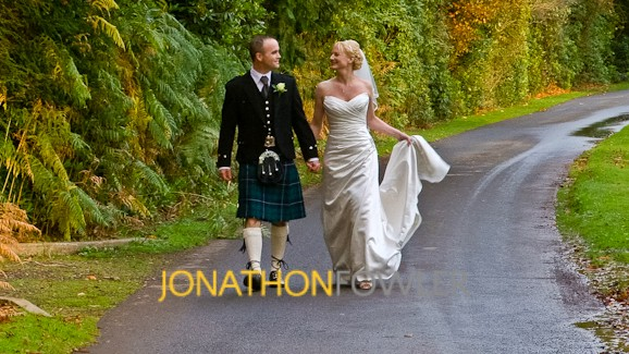 Melville Castle Wedding Video And Photos - Jo and Carl
