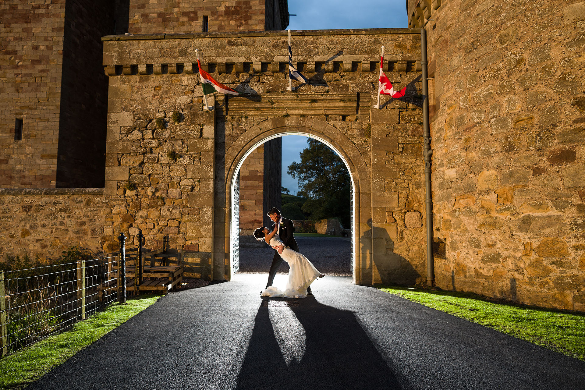 Midlothian Wedding Photographer Borthwick Castle Wedding