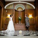 Elaine and Jonathan Napier University Craighouse wedding
