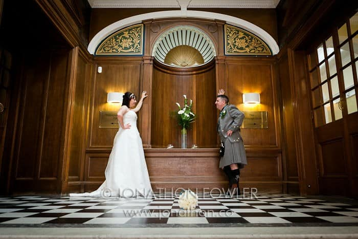 Edinburgh Napier University wedding