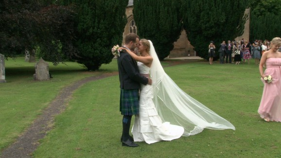 Oxenfoord Castle wedding video